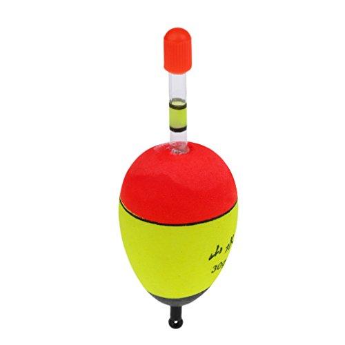 Gazechimp 1 Stk. Hechtposen Zanderposen Raubfischposen Leuchtend Schwimmende Posen - 30g