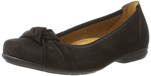 Gabor Shoes Damen Reassure Sport Geschlossene Ballerinas, Schwarz (47 Schwarz), 39 EU