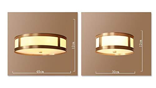 KFDQ Dekorative Deckenleuchten für den Haushalt, Bar-Restaurant-Café-Nachtclub-Dekorationslampen , Möbel-Deckenleuchte-Land-Schlafzimmer-Lampe Kupfer-Deckenleuchte Einfache Wohnzimmer-Esszimmer-Gehwe - Land Schlafzimmer Möbel