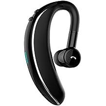 OYSOHE Auricular inalámbrico Bluetooth Auricular estéreo Movimiento Giratorio de Auriculares a 180 Grados Universal de Manos