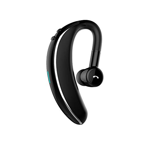 OYSOHE Auricular inalámbrico Bluetooth Auricular estéreo Movimiento Giratorio de Auriculares a 180 Grados Universal de Manos Libres (Gris)