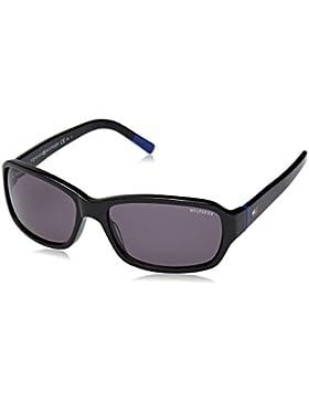 Tommy Hilfiger Unisex-Erwachsene TH 1148/S Y1 Sonnenbrille, Schwarz (Black), 53