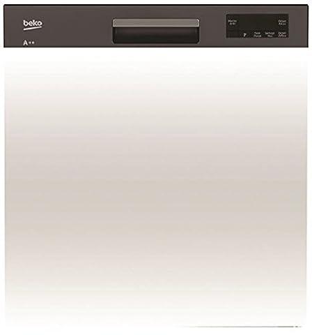 Lave-vaisselle Integrable - Beko PDSN15310B Semi intégré 13places A+ Noir,