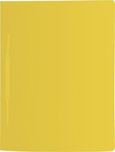 Brunnen Schnellhefter Fact! 31x24 cm A4 Kunststoff mit Amtsheftung Farbe gelb
