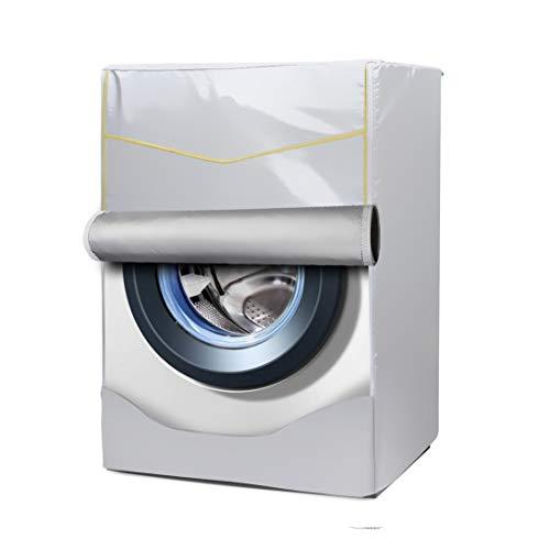 [Mr.You]Abdeckung für Waschmaschinen/trockner Für Frontlader Wasserdicht Silber Verdickte L (Frontlader-waschmaschine Abdeckung)