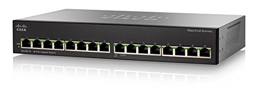 Cisco Systems CISCO 16-Port PoE Gigabit Switch SG110-16HP