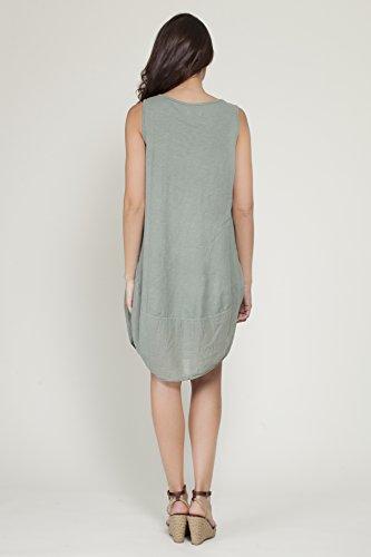 TANTRA Dress9667, Robe Femme Kaki