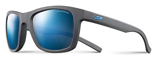 Julbo Beach Sonnenbrille, polarisiert Damen, Grau/Logo blau