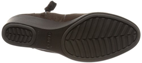 CROCS Femme - Leigh Synth Suede Wedge Bootie espresso Expresso