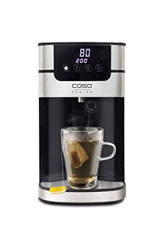 CASO HW 1000 Heißwasserspender - 100°C heißes Wasser innerhalb von Sekunden, 40°C-100°C, perfekt für Tee & Babynahrung, Energiesparender wie Wasserkocher, Wassertank 4 Liter, inkl. Wasserfilter