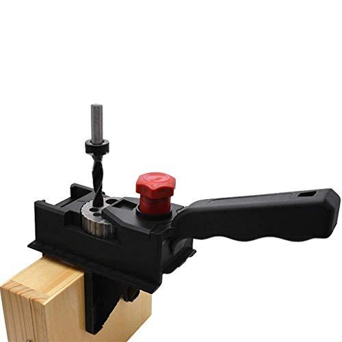 Dapei 10 Loch Bohrer (3-12 mm) für das Stanzen und Positionieren von Holz mit White Box verpackt