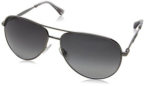 Jimmy Choo Damen JEWLY/S 9O KJ1 Sonnenbrille, Grau Ruthenium/Dark Grey Sf, 58