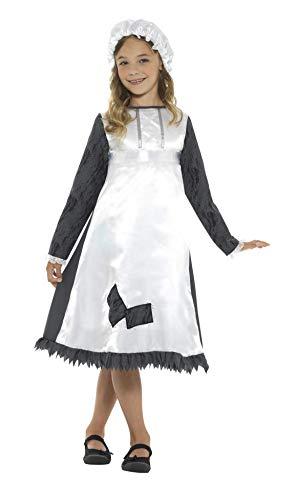 SMIFFY 'S 42997s Viktorianisches Dienstmädchen Kostüm klein 4-6Jahre
