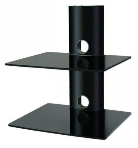 intecbrackets-premium-quality-2-glass-shelf-stand-and-display-system-for-dvd-sky-psp-tivo-and-all-ot
