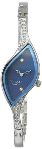 Titan Analog Blue Dial Women's Watch -NK9710SM01