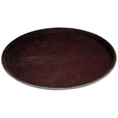 Winco Easy Hold Round Tray, 11-Inch by Winco USA
