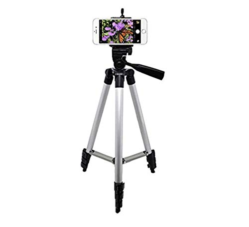 Teconica 3113 Light Weight Portable Tripod with 3D Head & Quick Release Plate (Random Colour)