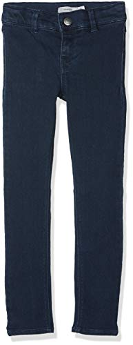 NAME IT Mädchen Jeans NKFPOLLY DNMTERA 3077 Pant NOOS Blau Dark Blue Denim, 134