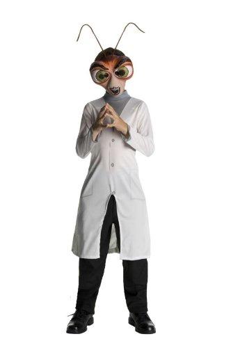 Kid Alien Kostüm - Monsters Vs. Aliens Dr. Cockroach Costume Child Small