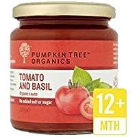 Pumpkin Tree Salsa de Tomate y Albahaca 300g (Pack de 6)
