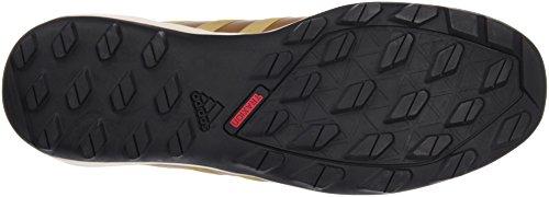 adidas Herren Daroga Plus Leather Brogues, Schwarz Braun / Schwarz / Weiß