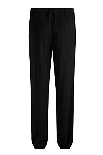ZSHOW Pantaloni da Yoga Lunghi Polsini Elasticizzati da Fitness Pantaloni Uomo Nero