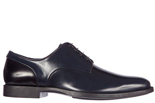 Dior scarpe stringate classiche uomo in pelle nuove derby 569 bicolor blu EU 43 3DE100VSH