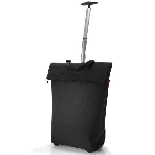 Reisenthel trolley m, borsa per la spesa, carrello per la spesa, black/nero, nt7003