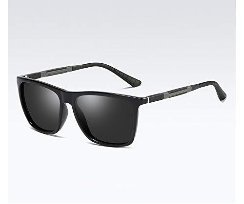 LKVNHP Hohe Qualität Markendesign Männer Und Frauen Polarisierte Bunte Sonnenbrille Sonnenbrille Mode Nachtsichtbrille Aluminium Magnesium TempelC1