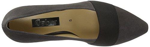 Gabor Shoes 55.141 Ladies Chiuso Pumps Grigio (grigio Scuro 19)