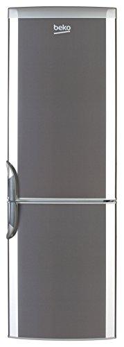 Beko CSA 31032 X Kühl-Gefrier-Kombination / A++ / 204 kWh/Jahr / 204 L Kühlteil / 78 L Gefrierteil / Automatische Abtauung / Flaschenhalter / Edelstahl Fingerprint Free