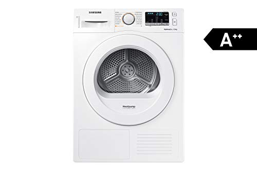 Samsung DV70M5020KW/EG Wärmepumpentrockner/A++/7 kg/60 cm Breite/Diamond Pflegetrommel/Automatikprogramme/Kindersicherung/weiß