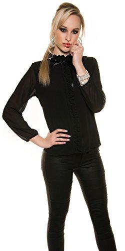 In-Stylefashion - Débardeur - Femme noir Schwarz taille unique Schwarz