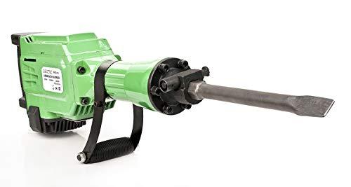 DER BAUTEC Abbruchhammer 2800 Watt + 4 Meißel | Stemmhammer Schlaghammer Meißelhammer Wechseln Ölstand