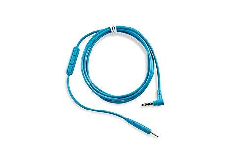 25 Kopfhörer-Kabel mit Inline-Mikrofon und Fernbedienungfür Samsung/Android Gerät blau ()