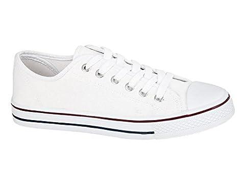 Foster Footwear , Baskets mode pour femme 0 - Blanc - blanc, 35.5