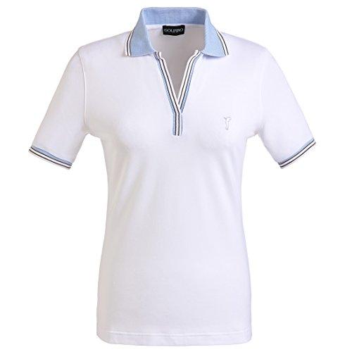 golfino-ladies-short-sleeve-golf-polo-with-sun-protection-white-xl