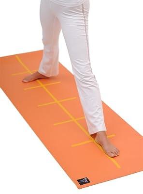Yogistar Yogamatte Plus Alignment - rutschfest - 3 Farben
