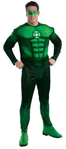 Rubies 3 889986 m - Kostüm DLX Green Lantern Größe M