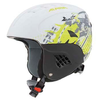 Alpina Kinder Skihelm Carat L.E, Black 52 Matt, 51-55 cm, 9042237