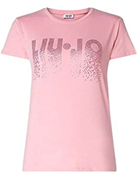 Liu Jo W18302J5358 Camiseta Mujer Rosa S