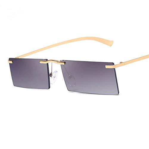 TIANKON Small Frame Square Sonnenbrillen Herren Damen Fashion Shades Uv400 Retroglasses,A3d