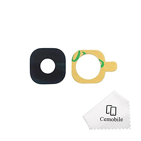 Cemobile Rear Facing Camera Glass Lens Cover Replacement + Adhesive for Samsung Galaxy S7 G930 / S7 Edge