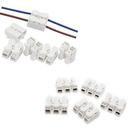 CH2 CH3 Cable de resorte Conector rápido Cable eléctrico Terminal de abrazadera...