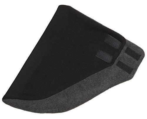 Hilltop Design - Bandana/Dreieckhalstuch/Halstuch mit Fleece, Farbe/Design:Schwarz uni -