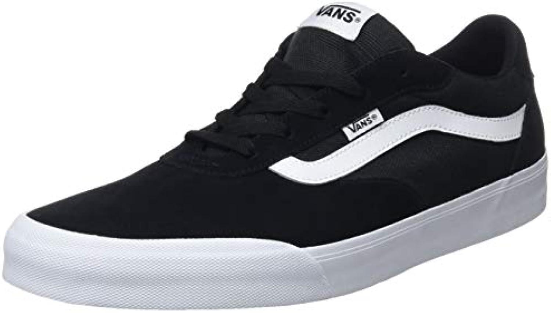 Vans Palomar, scarpe da ginnastica Uomo, Nero ((Suede Canvas) nero bianca Iju), EU | lusso  | Uomini/Donna Scarpa