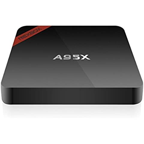 QcoQce A95X Smart TV Box Android 6.0 OS Amlogic S905X Quad core 1+8G Streaming Media Player - Professionista Player