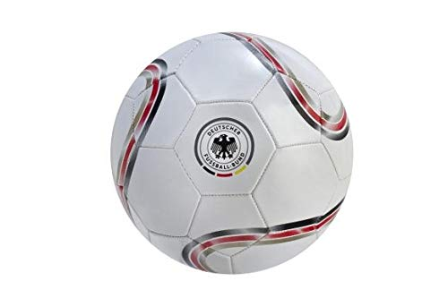 DFB Unisex Jugend Fußball Fun weiß Gr. 5 -
