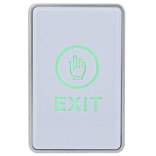Sistema de Control de Acceso Botón de Salida con luz LED, desbloqueo...