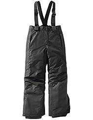 Pantalón de esquí para niña Snowboard Pantalones Pantalones para la nieve invierno Pantalón 134/140negro